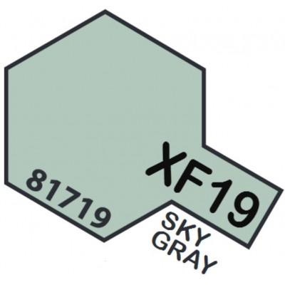 PINTURA ACRILICA GRIS CIELO MATE XF-19 (10 ml)