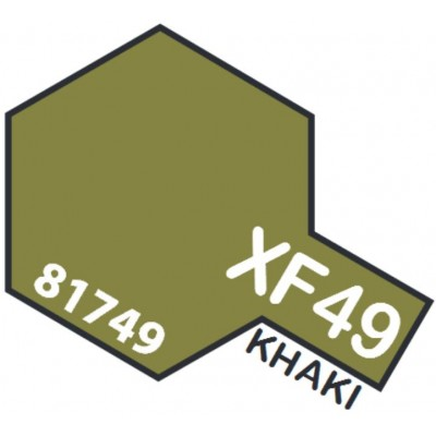 PINTURA ACRILICA KHAKI MATE XF-49 (10 ml)