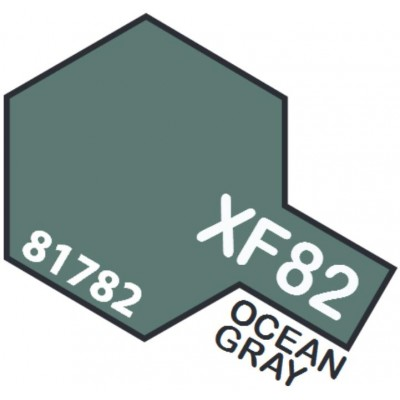 PINTURA ACRILICA GRIS OCEANO Nº2 R.A.F. (10 ml)