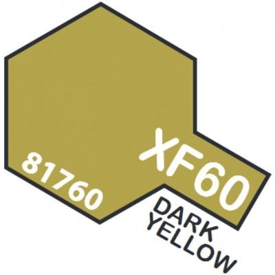 PINTURA ACRILICA AMARILLO OSCURO MATE XF-60 (10 ml)