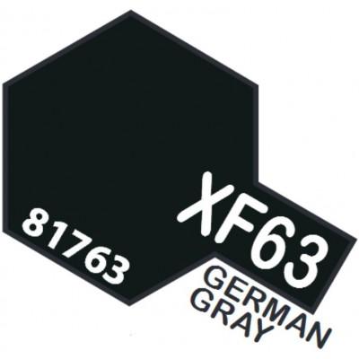 PINTURA ACRILICA GRIS ALEMAN MATE XF-63 (10 ml)