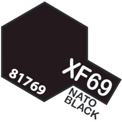 PINTURA ACRILICA NEGRO OTAN MATE XF-69 (10 ml)