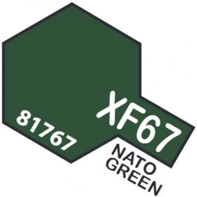 PINTURA ACRILICA VERDE OTAN MATE XF-67 (10 ml)