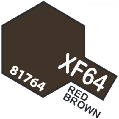 PINTURA ACRILICA MARRON ROJIZO MATE XF-64 (10 ml)