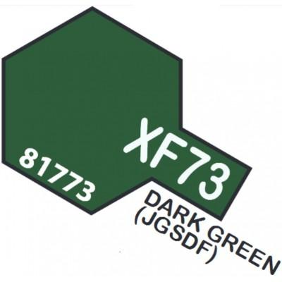 PINTURA ACRILICA VERDE OSCURO MATE XF-73 (10 ml)