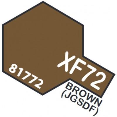 PINTURA ACRILICA MARRON JGSDF MATE XF-72 (10 ml)