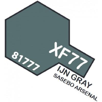 PINTURA ACRILICA GRIS IJN MATE XF-77 (10 ml)