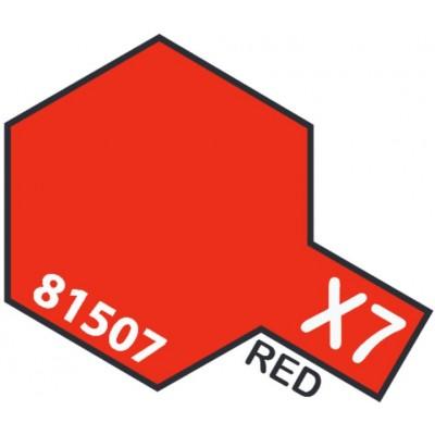 PINTURA ACRILICA ROJO BRILLANTE X-7 (10 ml)