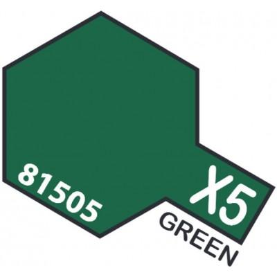 PINTURA ACRILICA VERDE BRILLANTE X-5 (10 ml)