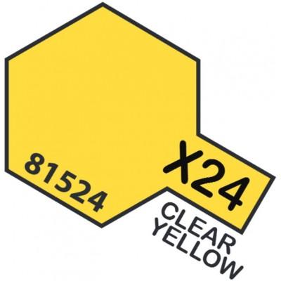 PINTURA ACRILICA AMARILLO TRANSPARENTE X-24 (10 ml)