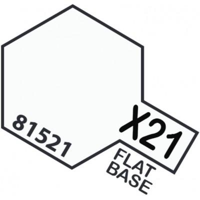 PINTURA ACRILICA FLAT BASE X-21 (10 ml)