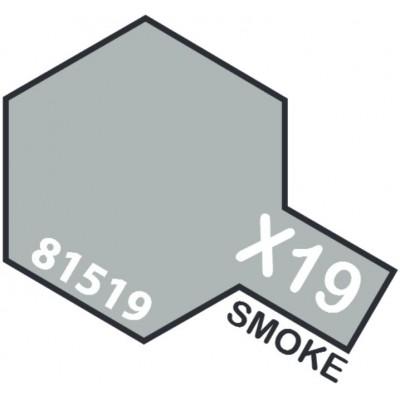 PINTURA ACRILICA HUMO TRANSPARENTE X-19 (10 ml)
