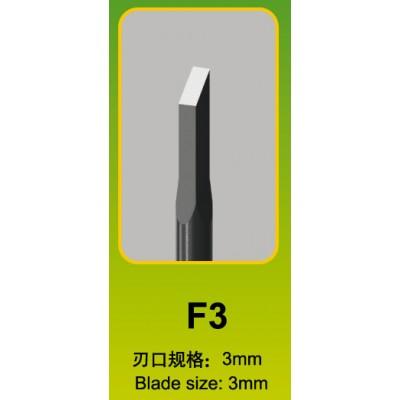 FORMON PARA MODELISMO F3 (3 x 3 mm) - Trumpeter Master Tools 09925