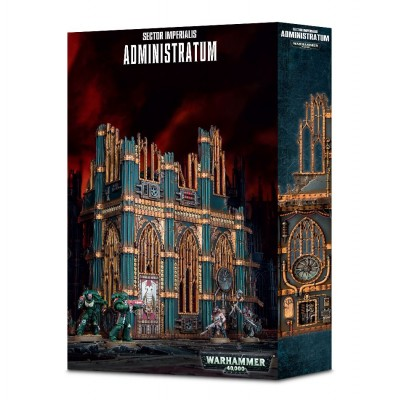 SECTOR IMPERIALIS ADMINISTRATUM - GAMES WORKSHOP 66-44