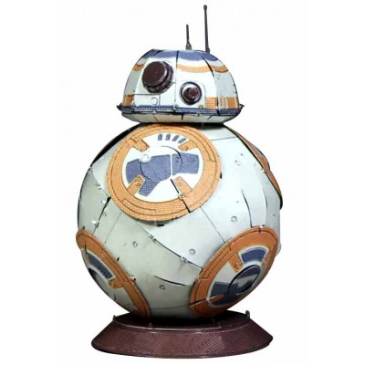 BB-8 COLOR 3D METAL MODEL
