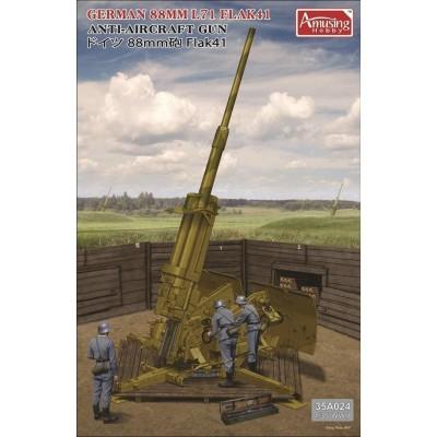 CAÑON ANTIAEREO FLAK 41 L71 -88 mm- 1/35 - Amusing Hobby 35A024