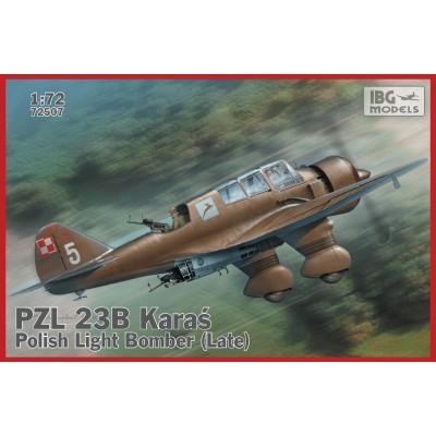 P.Z.L. 23 B KARAS -Late- 1/72 - IBG 72507