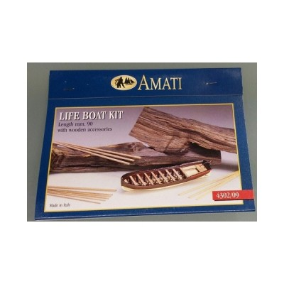 KIT BOTE SALVAVIDAS -L: 90,00 mm- AMATI 4302/09