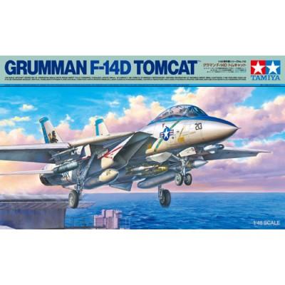 GRUMMAN F-14 D TOMCAT 1/48 - Tamiya 61118