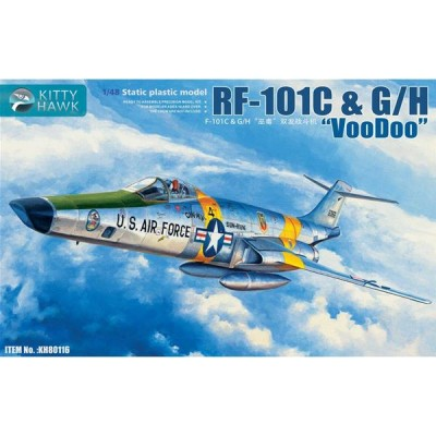McDONNELL RF-101 C / GH VOODOO 1/48 - Kitty Hawk KH80116