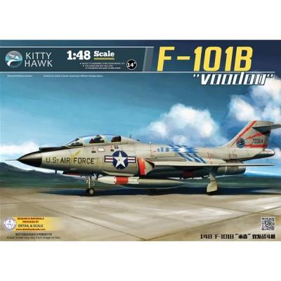 McDONNELL F-101 B / RF-101 B VOODOO 1/48 - Kitty Hawk KH80114