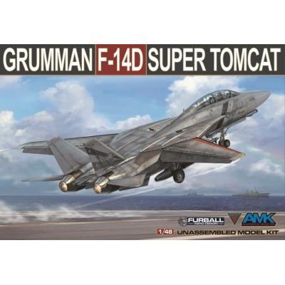 GRUMMAN F-14 D TOMCAT 1/48 - AMK Avantgarde 88007