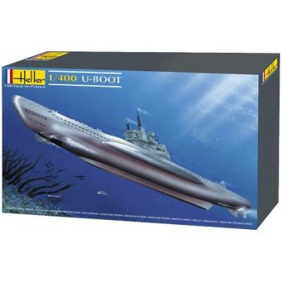 U-BOOT TYPE VII ESCALA 1/400 - HELLER 81002