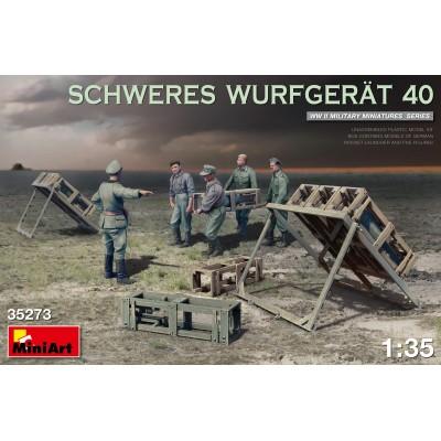 SISTEMA DE LANZAMIENTO DE COHETES Schweres Wurfgerät 40 1/35 - MiniArt 35273