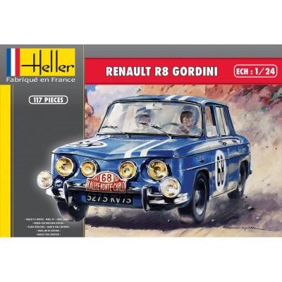 RENAULT R8 GORDINI 1/24 - Heller 80700