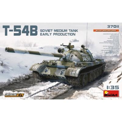 CARRO DE COMBATE T-54 B (Early) & Interiores - MiniArt 37011