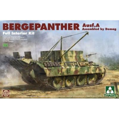 CARRO DE RECUPERCION Sd.Kfz. 179 Ausf. A -Demag Prod.- BERGEPANTHER 1/35 - Takom 2101