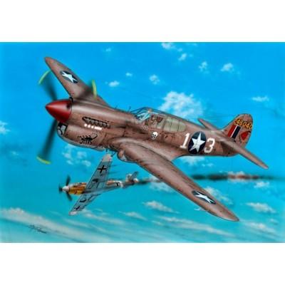 CURTISS P-40 K 1/5 Warhawk 1/72 - Special Hobby SH72379