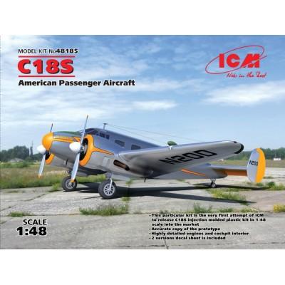 BEECHCRAFT C-18 S 1/48 - ICM 48185