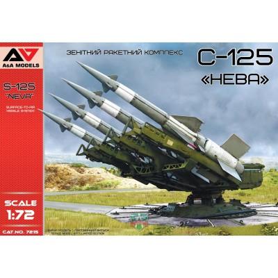 SISTEMA DE MISILES ANTIAEREO S-125 -Neva- 1/72 - A&A Models AAM 7215