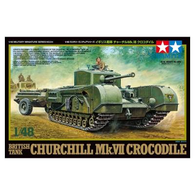 CARRO CHURCHILL MK.VII COCODRILE - ESCALA 1/48 - TAMIYA 32594
