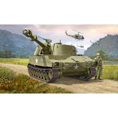OBUS AUTOPROPULSADO M-109 US ARMY - ESCALA 1/72 - Revell 03265