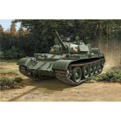 CARRO DE COMBATE T-55 A/AM 1/72 - Revell 03304