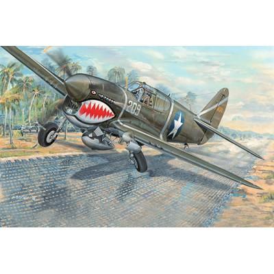 CURTSS P-40 F WARHAWK 1-32 - Trumpeter 03227