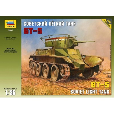 CARRO DE COMBATE BT-5 - Zvezda 3507