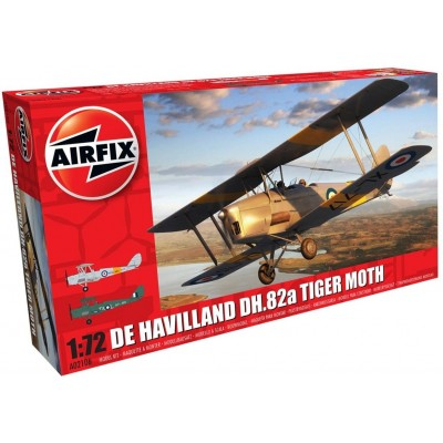 deHAVILLAND TIGER MOTH MK-II 1/72 - Airfix A02106