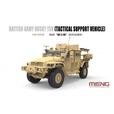 VEHICULO BLINDADO HUSKY -Britanico- TSV (Tactical Support Vehicle) 1/35 - Meng Models VS009
