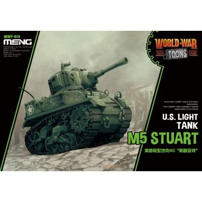 CARRO DE COMBATE M-5 STUARD -TOONS- Meng Model WWT-012