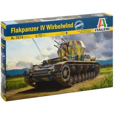 FLAKPANZER IV WIRBELWIND - ESCALA 1/72 ITALERI 7074
