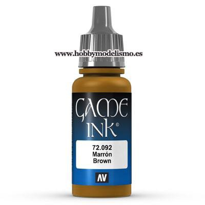 PINTURA ACRILICA TINTA MARRON (17 ml)