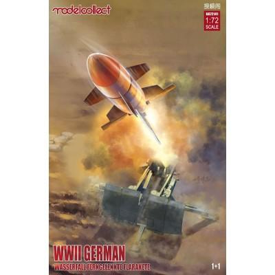 MISIL GUIADO ANTIAEREO WWII WASSERFALL - ESCALA 1/72 - MODELCOLLECT UA72141