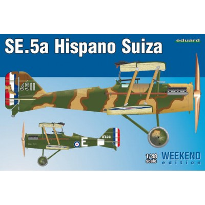 R.A.F.SE.5a HISPANO SUIZA ESCALA 1/48 WEEKEND EDIT. EDUARD 8453