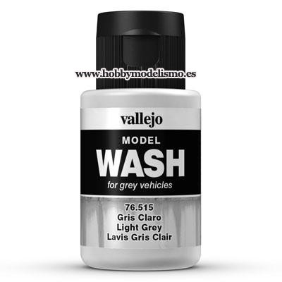 MODEL WASH (35 ml) GRIS CLARO - Vallejo 76515