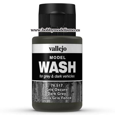 MODEL WASH (35 ml) GRIS OSCURO - - Vallejo 76517