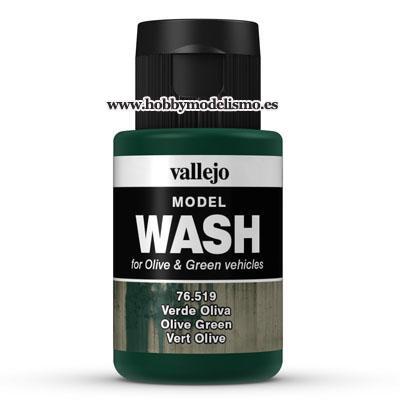 MODEL WASH: VERDE OLIVA (35 ml) - Vallejo 76519
