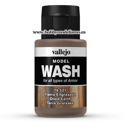 MODEL WASH: TIERRA ENGRASADA (35 ml) - Vallejo 76521